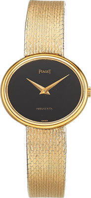 Piaget Lady's Gold Watch, retailed by Tiffany & Co