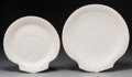Ceramics & Porcelain, British:Contemporary   (1950 to present)  , Twelve Wedgwood Nautilus Pattern Ceramic Dinner and Salad Plates, late 20th century. Marks: WEDGWOOD of ETRURI... (Total: 12 Items)