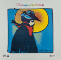 Prints, Peter Max (American, b. 1937). Say No More, Badfinger album poster, 1980. Color poster. 24 x 24 inches (61 x 61 cm). ...