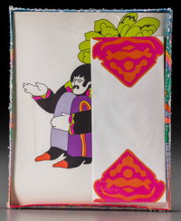 Peter Max (American, b. 1937) The Beatles' Yellow Submarine stationery, 1968 Containing 16 sheets an