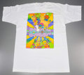 "Post-War & Contemporary:Contemporary, Peter Max (American, b. 1937). Woodstock T-shirt, featuringMax's ""Different Drummer, 1968"" artwork, 1994. Fruit of the ..."