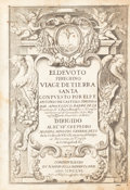Books:Travels & Voyages, Antonio De Castillo. El devoto peregrino, viage de TierraSanta. Madrid: Imprenta real, 1656. Early edition, appeari...
