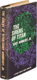 Books:Science Fiction & Fantasy, Kurt Vonnegut. The Sirens of Titan. Boston: HoughtonMifflin, 1961. First hardcover edition, inscribed by the auth...