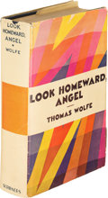 Books:Literature 1900-up, Thomas Wolfe. Look Homeward, Angel. A Story of a BuriedLife. New York: Charles Scribner's Sons, 1929. First edi...