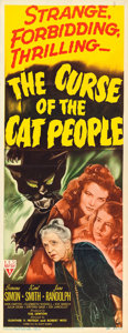 "Movie Posters:Horror, The Curse of the Cat People (RKO, 1944). Insert (14"" X 36"").. ..."