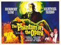 "Movie Posters:Horror, The Phantom of the Opera (Universal International, 1962). BritishQuad (30"" X 40"").. ..."