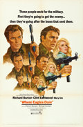 """Movie Posters:War, Where Eagles Dare (MGM, 1968). One Sheet (27"""" X 41"""") Style C,Howard Terpning Artwork.. ..."""