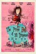 "Movie Posters:Comedy, The Pure Hell of St. Trinian's (Lion International, 1960). BritishOne Sheet (27"" X 40""). Roland Searle Artwork.. ..."