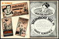"Movie Posters:Comedy, Steamboat Bill, Jr. (United Artists, 1928). Uncut Pressbook (InnerBook: 16 Pages, Foldout Cover, and Herald, 9.5"" X 12.5"")...."