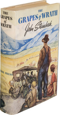 John Steinbeck. The Grapes of Wrath. New York: Viking, [1939]. First edition