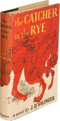 Books:Literature 1900-up, J. D. Salinger. The Catcher in the Rye. Boston: Little,Brown and Company, 1951. First edition. ...