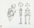 animation art:Model Sheet, Robots Rodney Copperbottom Model Sheet (Fox, 2005)....