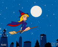 Animation Art:Limited Edition Cel, Bewitched Title Animation Art Limited Edition Cel (Columbia,c. 1990s)....