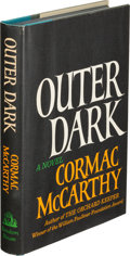 Books:Literature 1900-up, Cormac McCarthy. Outer Dark. New York: Random House, [1968].First edition. ...