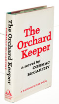 Books:Literature 1900-up, Cormac McCarthy. The Orchard Keeper. New York: Random House,[1965]. First edition, signed by McCarthy at the fr...