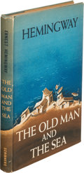 Books:Literature 1900-up, Ernest Hemingway. The Old Man and the Sea. New York: CharlesScribner's Sons, 1952. First edition. ...