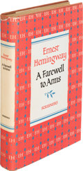 Books:Literature 1900-up, Ernest Hemingway. A Farewell to Arms. New York: CharlesScribner's Sons, 1953. Later edition, inscribed by Hemingw...