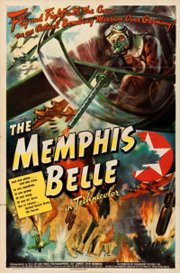 "The Memphis Belle (Paramount, 1944). One Sheet (27"" X 41"")"