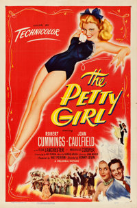 "The Petty Girl (Columbia, 1950). One Sheet (27"" X 41"") George Petty Artwork"