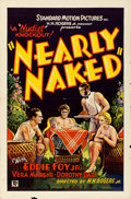 """Movie Posters:Exploitation, Nearly Naked (Standard, 1933). One Sheet (27"""" X 41"""").. ..."""
