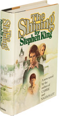 Books:Horror & Supernatural, Stephen King. The Shining. Garden City, New York: Doubleday,1977. First edition, signed by the author and dated...