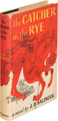 Books:Literature 1900-up, J. D. Salinger. The Catcher in the Rye. Boston: Little,Brown, 1951. First edition. ...