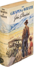 Books:Literature 1900-up, John Steinbeck. The Grapes of Wrath. New York: Viking, 1939.First edition. ...