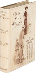 Books:Literature 1900-up, Sinclair Lewis. Our Mr. Wrenn. The Romantic Adventures ofa Gentle Man. New York: Harper and Brothers, 1914. Fir...
