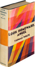 Books:Literature 1900-up, Thomas Wolfe. Look Homeward, Angel. A Story of the BuriedLife. New York: Charles Scribner's Sons, 1929. First e...