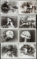 "Movie Posters:Documentary, Hunters of the Deep (DCA, 1955). Photos (30) (8"" X 10""), Pressbooks (9) (Identical) (6 Pages, 11.5"" X 15.5""), Programs (3) I... (Total: 46 Items)"