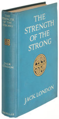 Books:Literature 1900-up, Jack London. The Strength of the Strong. New York: 1914. First edition....