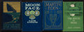 Books:Literature 1900-up, Jack London. Group of Four Macmillan Books. New York: 1905-1912. First editions.... (Total: 4 Items)