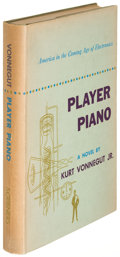 Books:Literature 1900-up, Kurt Vonnegut. Player Piano. New York: 1952. Firstedition....