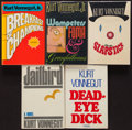 Books:Science Fiction & Fantasy, Kurt Vonnegut. Group of Five Delacorte Books. New York: [1973-1982]. First editions, trade issues.... (Total: 5 Items)