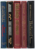 Books:Fiction, Kurt Vonnegut. Group of Five Delacorte Books. New York:[1976-1987]. First editions, signed-limited issues.... (Total: 5Items)