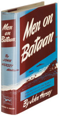 Books:Literature 1900-up, John Hersey. Men on Bataan. New York: 1942. First edition ofthe author's first book....
