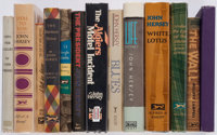 John Hersey. Group of Thirteen Knopf Books. New York: [1943-1991]. First editions, some signed or inscribed, two are