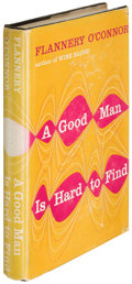 Books:Literature 1900-up, Flannery O'Connor. A Good Man Is Hard to Find. New York:[1955]. First edition.. ...