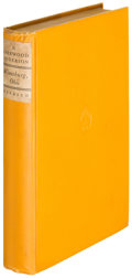 Books:Literature 1900-up, Sherwood Anderson. Winesburg, Ohio. New York: 1919. Firstedition....