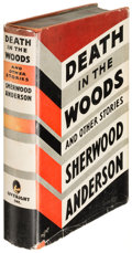Books:Literature 1900-up, Sherwood Anderson. Death in the Woods... New York: [1933].First edition.. ...