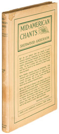 Books:Literature 1900-up, Sherwood Anderson. Mid-American Chants. New York: 1918.First edition....