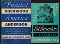 Books:Literature 1900-up, Sherwood Anderson. Pair Scribner's Books. New York: [1935-1936].First editions.... (Total: 2 Items)