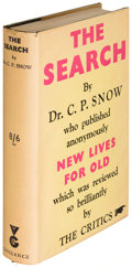Books:Literature 1900-up, C. P. Snow. The Search. London: 1934. First edition....