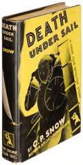 Books:Mystery & Detective Fiction, C. P. Snow. Death Under Sail. Garden City: [1932]. First U. S. edition of the author's first book. . ...