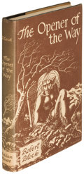 Books:Horror & Supernatural, Robert Bloch. The Opener of the Way. Sauk City: 1945. First edition of the author's first book....