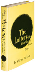 Books:Horror & Supernatural, Shirley Jackson. The Lottery... New York: 1949. Firstedition, first issue....