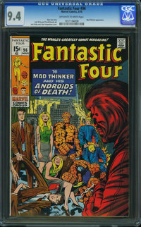 Fantastic Four #96 (Marvel, 1970) CGC NM 9.4 Off-white to white pages