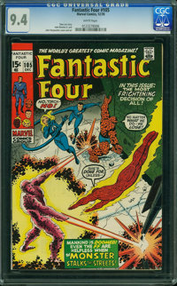 Fantastic Four #105 (Marvel, 1970) CGC NM 9.4 White pages
