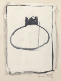 Works on Paper, Joan Hernandez Pijoan (Spanish, 1931-2005). Serie Evora, 1990. Gouache and pastel on board. 9-1/2 x 7-1/4 inches (24.1 x...
