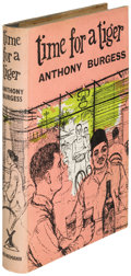 Books:Literature 1900-up, Anthony Burgess. Time for a Tiger. London: [1956]. Firstedition of the author's first book, note by Burgess in two ...